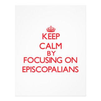 Keep Calm by focusing on EPISCOPALIANS Flyer