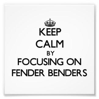 Keep Calm by focusing on Fender Benders Photo Print