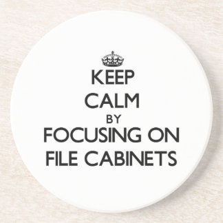 Keep Calm by focusing on File Cabinets Coaster