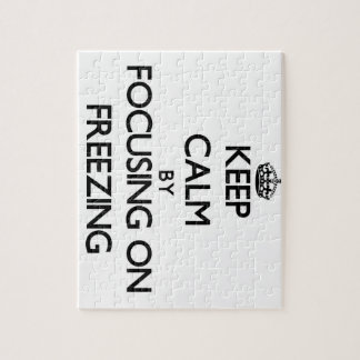 Keep Calm by focusing on Freezing Puzzles