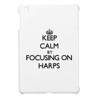 Keep Calm by focusing on Harps iPad Mini Cover