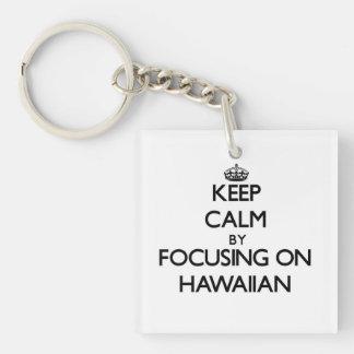 Keep calm by focusing on Hawaiian Key Chain