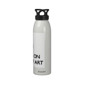 Keep calm by focusing on History Of Art Reusable Water Bottle