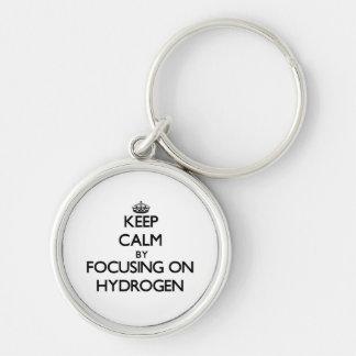 Keep Calm by focusing on Hydrogen Keychains