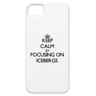 Keep Calm by focusing on Icebergs iPhone 5/5S Case
