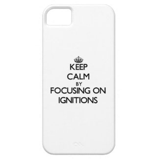 Keep Calm by focusing on Ignitions iPhone 5 Case