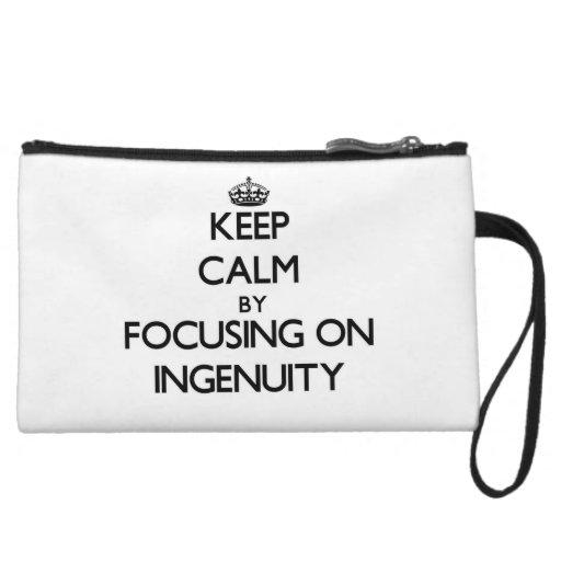 Keep Calm by focusing on Ingenuity Wristlets