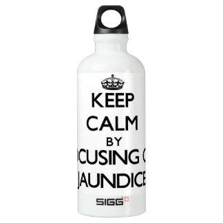 Keep Calm by focusing on Jaundice SIGG Traveler 0.6L Water Bottle