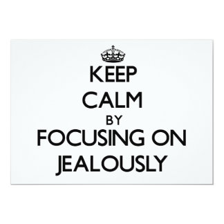 Keep Calm by focusing on Jealously Personalized Announcements
