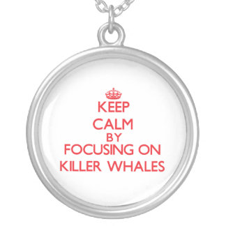 Keep calm by focusing on Killer Whales Custom Jewelry
