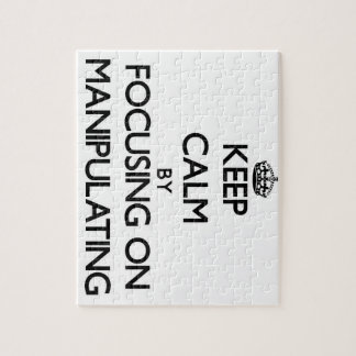 Keep Calm by focusing on Manipulating Jigsaw Puzzles