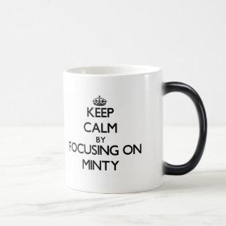 Keep Calm by focusing on Minty 11 Oz Magic Heat Color-Changing Coffee Mug