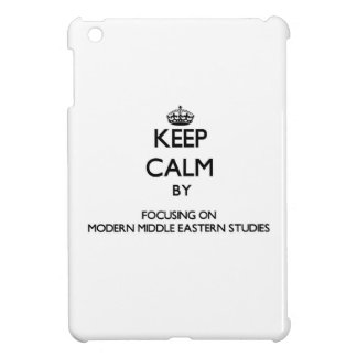 Keep calm by focusing on Modern Middle Eastern Stu Case For The iPad Mini