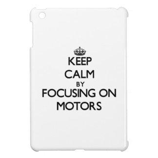 Keep Calm by focusing on Motors iPad Mini Cover