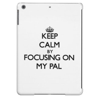 Keep Calm by focusing on My Pal iPad Air Covers