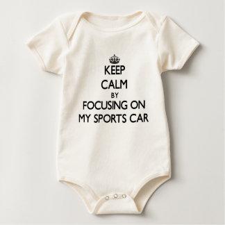 Keep Calm by focusing on My Sports Car Bodysuits