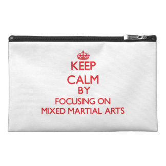 Keep calm by focusing on on Mixed Martial Arts Travel Accessories Bags