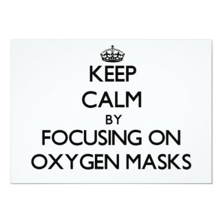 Keep Calm by focusing on Oxygen Masks Announcement