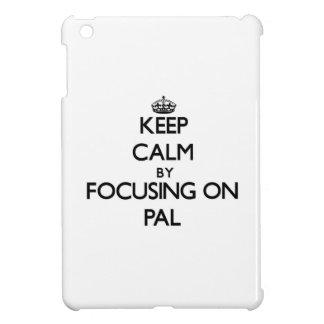 Keep Calm by focusing on Pal iPad Mini Cover