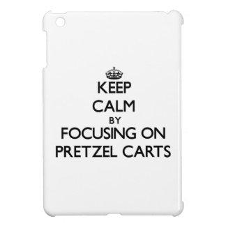 Keep Calm by focusing on Pretzel Carts iPad Mini Case