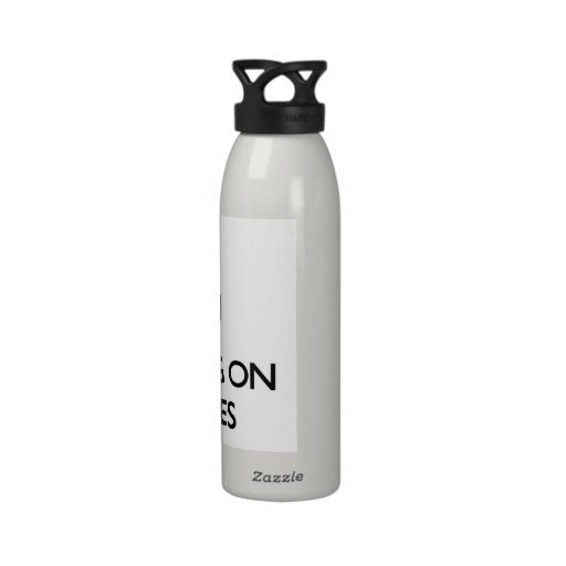 Keep Calm by focusing on Primates Water Bottles