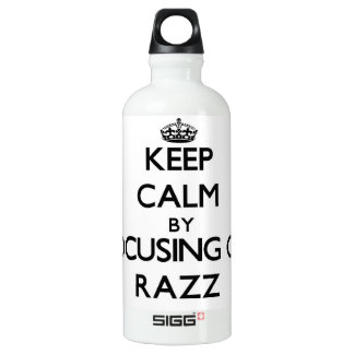 Keep Calm by focusing on Razz SIGG Traveler 0.6L Water Bottle