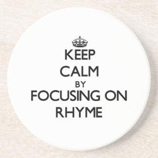 Keep Calm by focusing on Rhyme Coaster