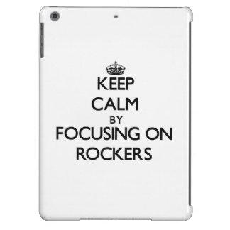 Keep Calm by focusing on Rockers iPad Air Case
