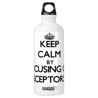 Keep Calm by focusing on Sceptors SIGG Traveler 0.6L Water Bottle