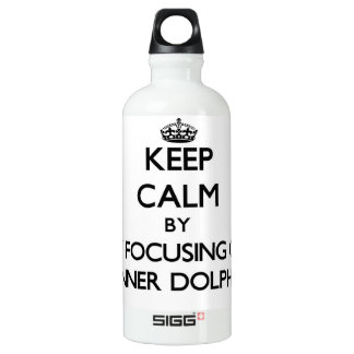 Keep calm by focusing on Spinner Dolphins SIGG Traveler 0.6L Water Bottle