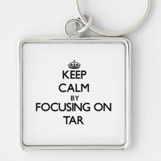 Keep Calm by focusing on Tar Key Chains