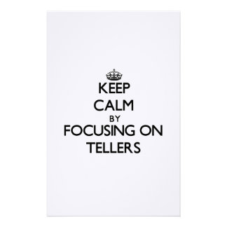 Keep Calm by focusing on Tellers Stationery Design