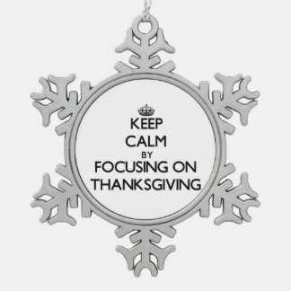 Keep Calm by focusing on Thanksgiving Ornaments