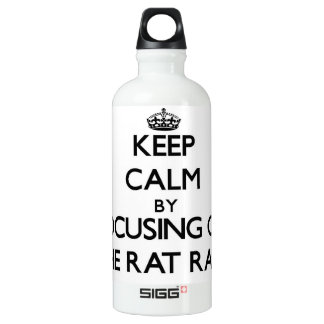 Keep Calm by focusing on The Rat Race SIGG Traveler 0.6L Water Bottle