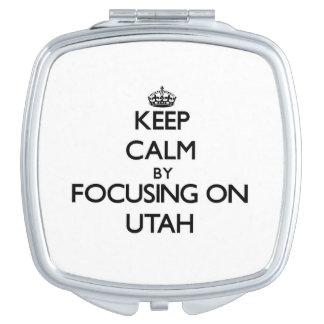 Keep Calm by focusing on Utah Makeup Mirrors