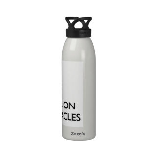 Keep Calm by focusing on Vicious Circles Reusable Water Bottles