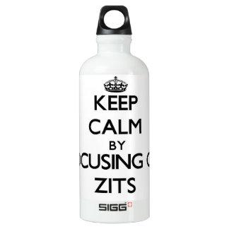 Keep Calm by focusing on Zits SIGG Traveler 0.6L Water Bottle