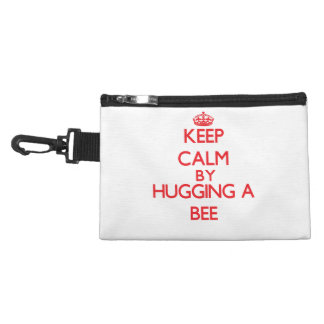 Keep calm by hugging a Bee Accessory Bag