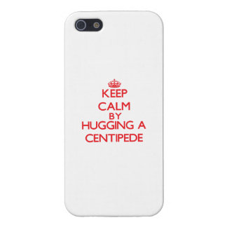 Keep calm by hugging a Centipede iPhone 5 Cases