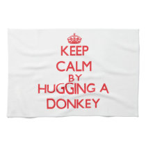 Keep calm by hugging a Donkey Kitchen Towel
