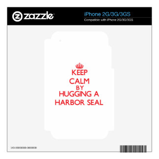 Keep calm by hugging a Harbor Seal Skin For The iPhone 2G