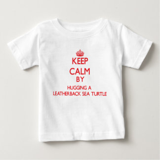 Keep calm by hugging a Leatherback Sea Turtle Tee Shirt