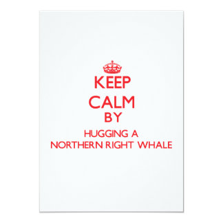 Keep calm by hugging a Northern Right Whale Announcement