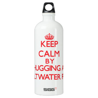 Keep calm by hugging a Saltwater Fish SIGG Traveler 1.0L Water Bottle