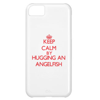 Keep calm by hugging an Angelfish iPhone 5C Case