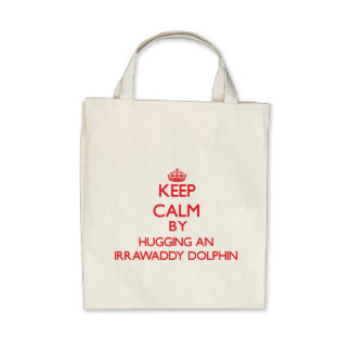 Keep calm by hugging an Irrawaddy Dolphin Bag