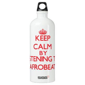 Keep calm by listening to AFROBEAT SIGG Traveler 1.0L Water Bottle