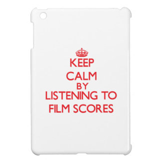 Keep calm by listening to FILM SCORES Case For The iPad Mini