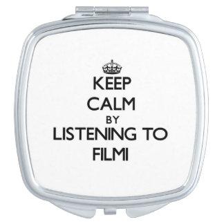 Keep calm by listening to FILMI Vanity Mirror