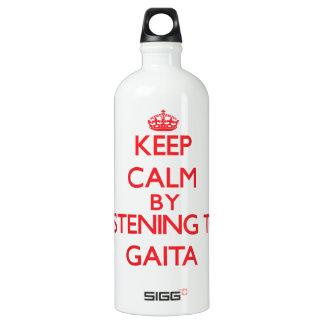 Keep calm by listening to GAITA SIGG Traveler 1.0L Water Bottle
